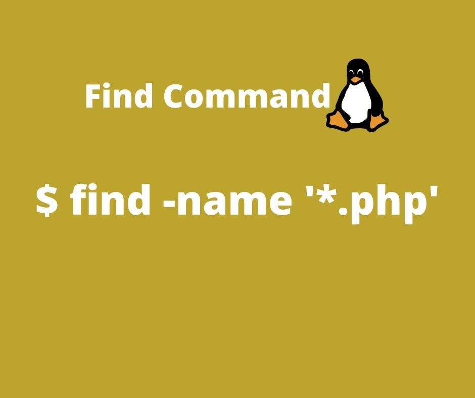Linux find Command – All you need to know